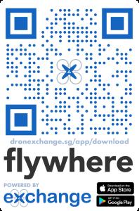 Download Flywhere App QR Code
