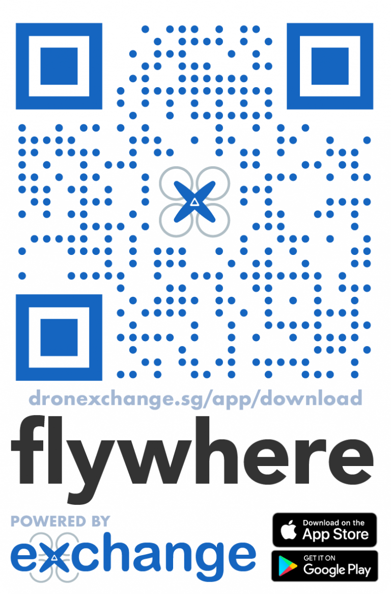 Download Flywhere App QR Code